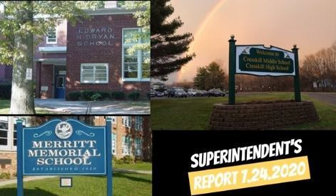 Cresskill School District Announces Reopening Plan for 2020-2021